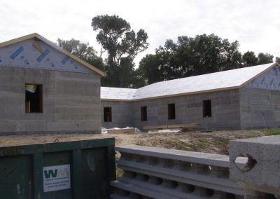MillenniumBlok® light-weight Insulated Concrete Form system